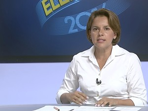 Taubaté: Pollyana Gama é entrevistada pelo Link Vanguarda (Foto: Reprodução/ TV Vanguarda)