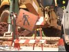 Tubulação de gás natural se rompe durante obra em rua de Jundiaí