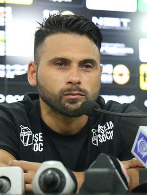 Maxi Biancucchi, Ceará, apresentação (Foto: Israel Simonton / CearaSC.com)