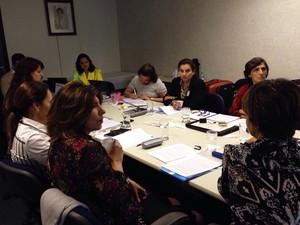 Grupo de trabalho coordenado pela ONU Mulheres para adaptação do protocolo de investigação do feminicídio (Foto: Marixa Fabiane Rodrigues/Arquivo pessoal)