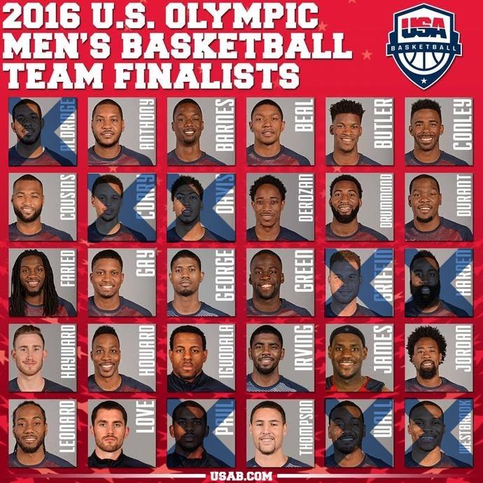 seleção americana masculina de basquete desistiu de disputar a Olimpíada (Foto: Reprodução )