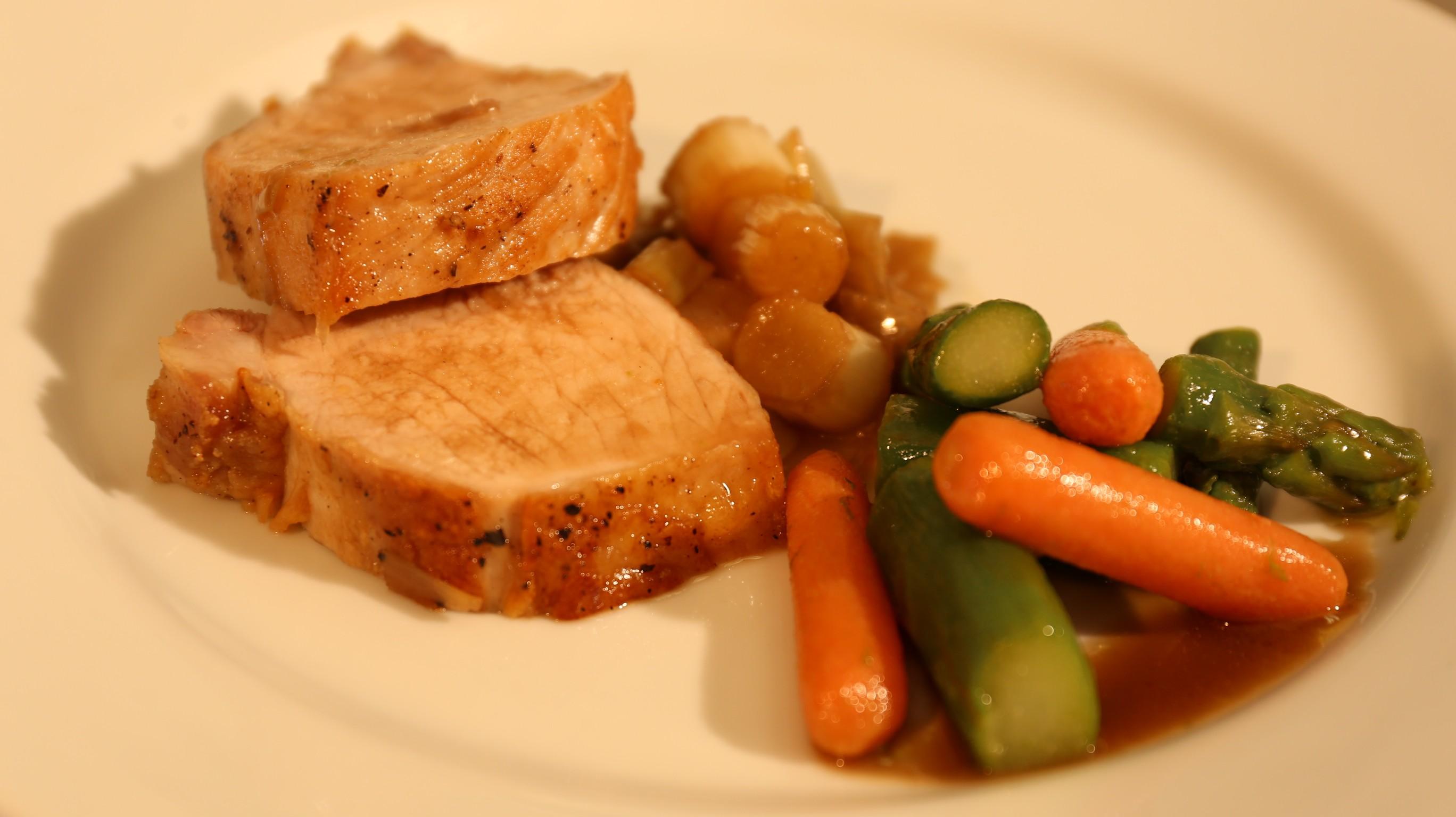 Receita: filé de porco com maçã e alho poró é prato simples e delicioso