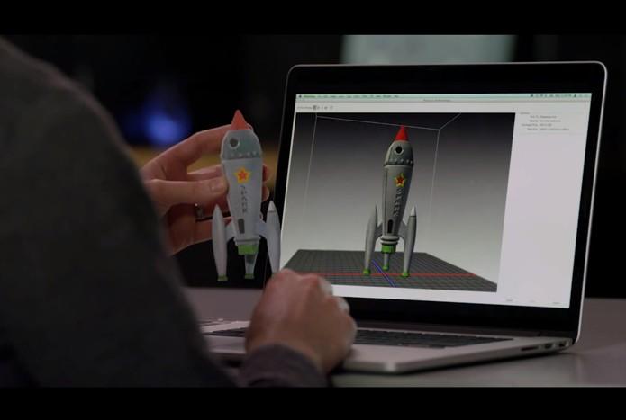 Os novos recursos de impressão 3D no Photoshop CC leva a possibilidade todos imprimirem modelos 3D (Foto: Divulgação/Adobe)