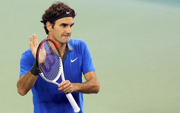 Federer tênis contra Marin Cilic (Foto: Reuters)