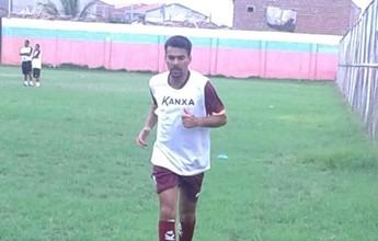 Experiente, atacante Araújo preocupa Náutico para jogo contra Central