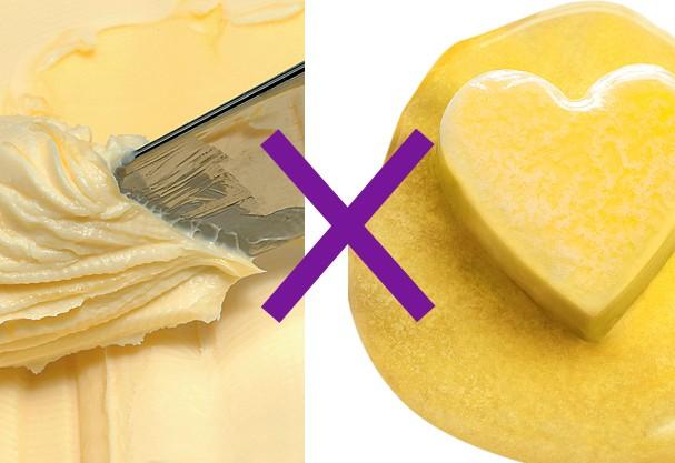 Manteiga ou margarina? Desvenda os mitos dos alimentos de uma vez por todas
