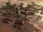 Acúmulo de lama foi causa de ruptura de barragem