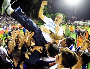 Marcelo Oliveira comemoração Cruzeiro (Foto: Marcos Ribolli)