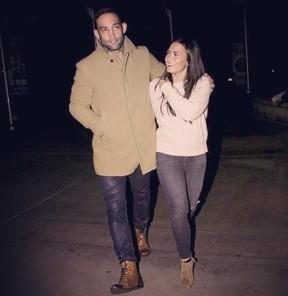 Guilherme Bomba e Demi Lovato (Foto: Reprodução / Instagram)
