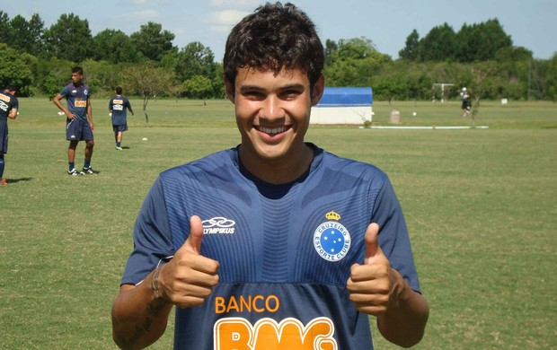 Vinícius Araújo cruzeiro sub-20 (Foto: Marco Astoni / Globoesporte.com)