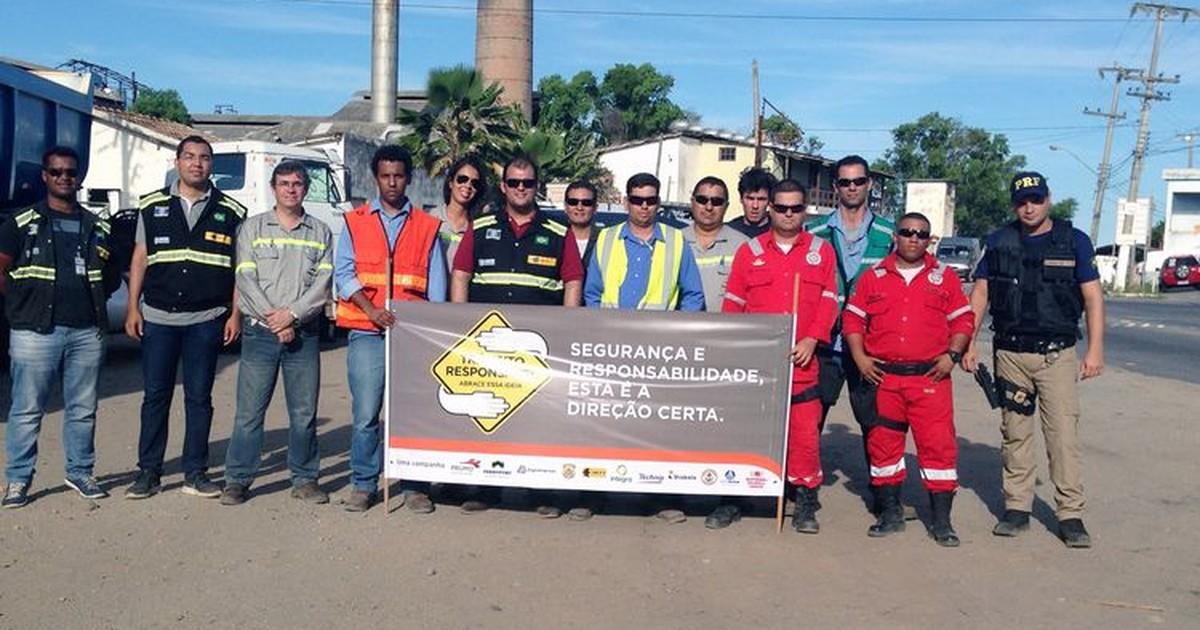 Sexta-feira é dia de ação educativa na BR-356 em Campos, no RJ - Globo.com