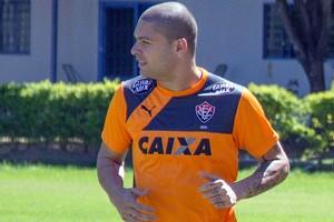 Vitória; treino; Cuiabá; Guilherme Mattis; Flávio (Foto: Pedro Lima / Assessoria Cuiabá Esporte Clube)