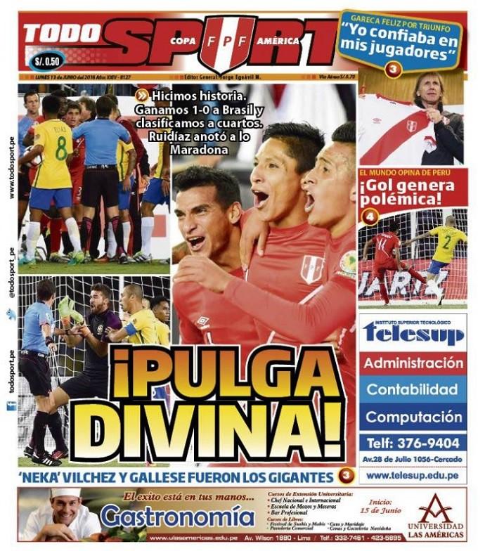 TodoSport Brasil x Peru