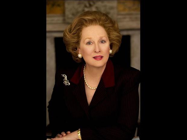 A atriz Meryl Streep vai interpretar a ex-primeira ministra inglesa em 'The iron lady' (Foto: Divulgação)