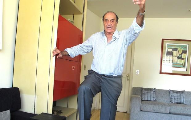 ex-jogador e ex-treinador Procópio Cardoso (Foto: Alexandre Alliatti)