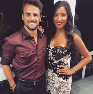 Rafael Licks e Talita Araújo na final do 'BBB 15' (Foto: Reprodução/Instagram)