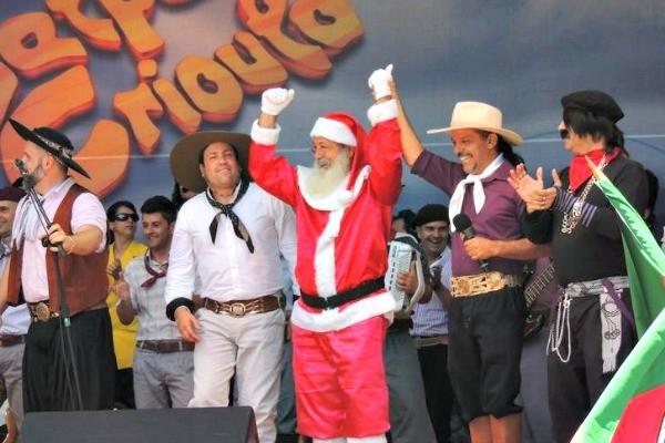 Galpão Crioulo de Natal (Foto: Gabriela Haas/RBS TV)