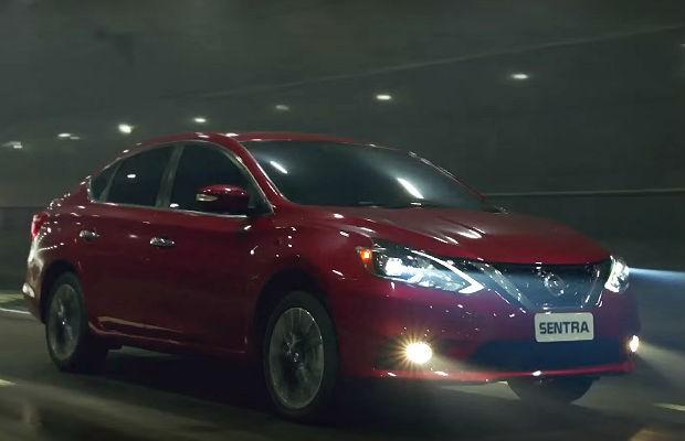 Novo Nissan Sentra aparece na nova campanha da marca dos Jogos Rio 2016 (Foto: Reprodução)