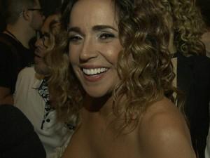 d838490ff3 Daniela Mercury marcou presença na pré-estreia do documentário (Foto   Reprodução TV