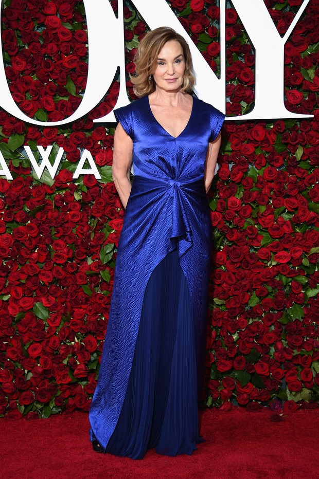 Jessica Lange no Tony Awards (Foto: AFP)