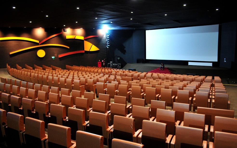 Sala de exibição do Cine Brasília, na Asa Sul, Distrito Federal (Foto: Tony Winston/Agência Brasília)