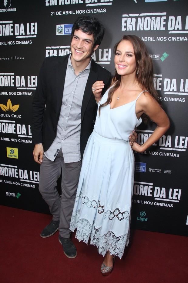 Mateus Solano e Paolla Oliveira (Foto: Thyago Andrade/ Brazil News)