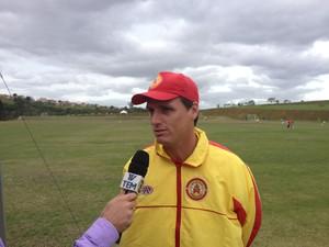 José Luis Drey, técnico do Atlético Sorocaba (Foto: Emilio Botta)
