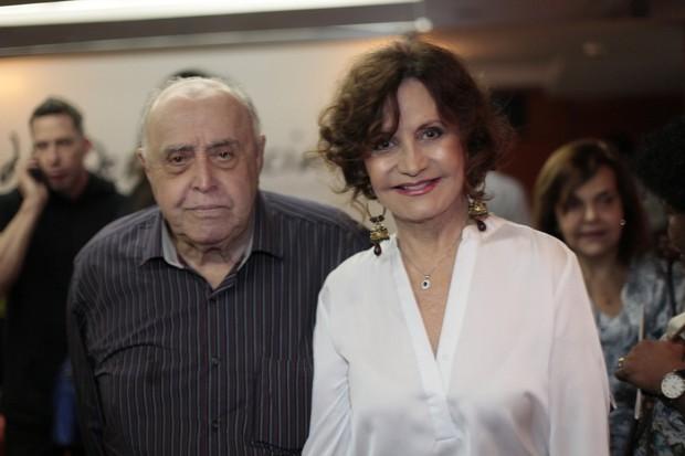 Mauro Mendonça e Rosamaria Murtinho (Foto: Isac Luz / EGO)