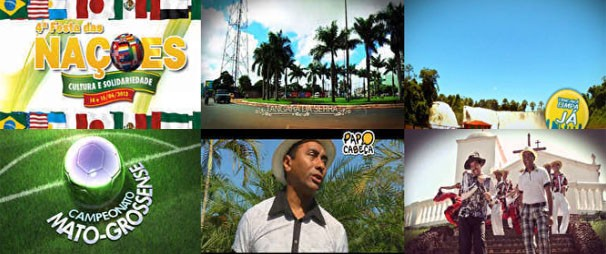 Vídeos que você vê na TV, agora na web também. Acesse nossa galeria! (Foto: Reprodução/TVCA)