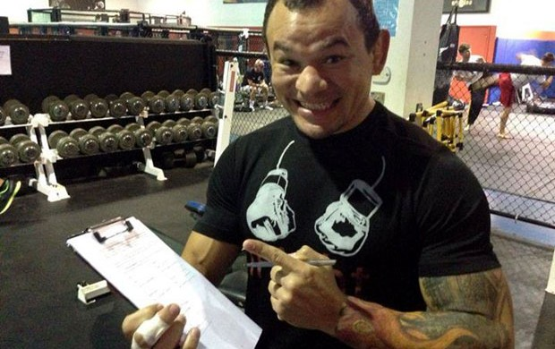 Gleison Tibau UFC (Foto: Reprodução / Facebook)