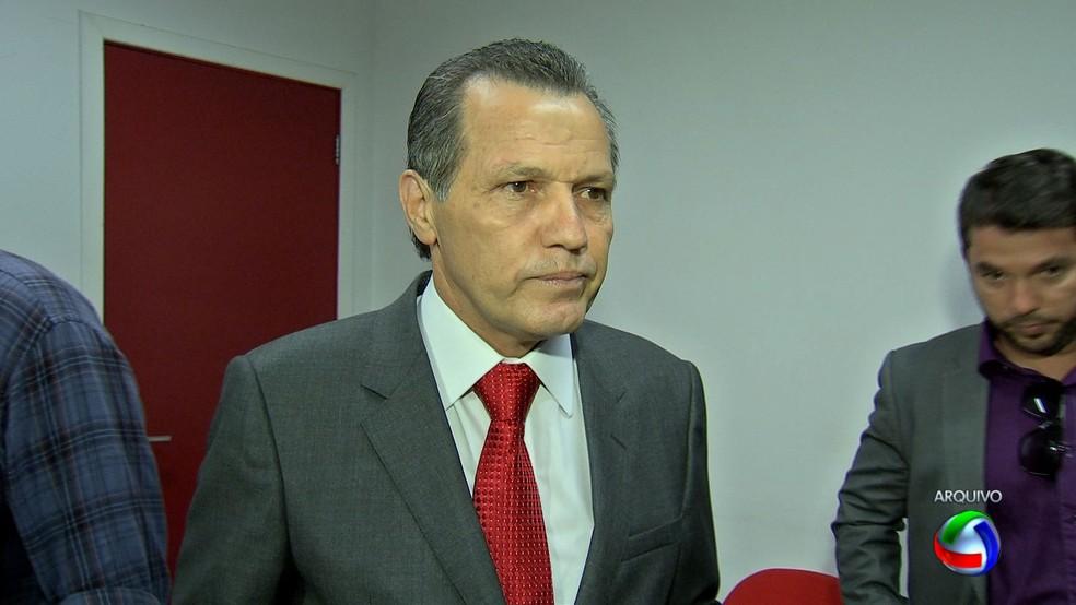 Silval Barbosa é apontado pelo MP como líder de organização criminosa (Foto: Reprodução/TVCA)