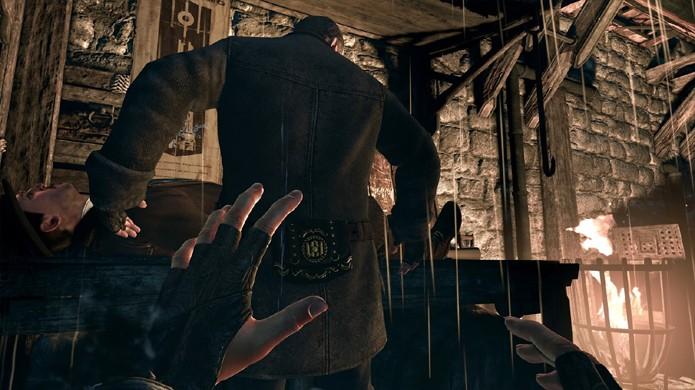 A visão periférica dos inimigos é péssima e torna você quase invisível mesmo do lado deles (Foto: rocketchainsaw.com.au)