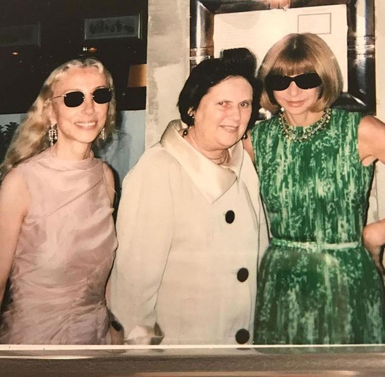 Franca, Suzy e Anna Wintour (Foto: Reprodução/Instagram)