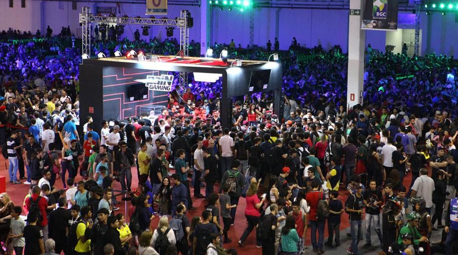 Brasil Game Show: evento tem espaço para empreendedores (Foto: Brasil Game Show)