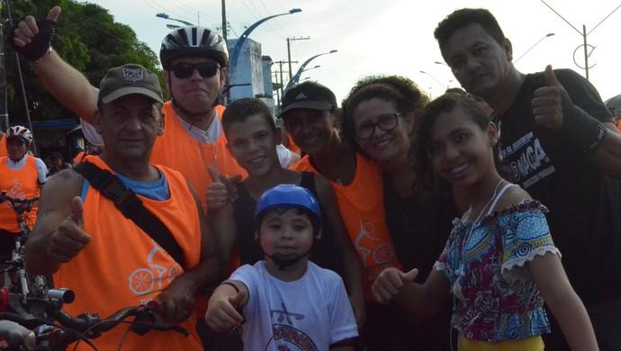 Beto Rego no Pedalando nas Férias (Foto: Michael Douglas/GloboEsporte.com)