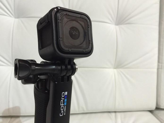 GoPro Hero4 Session: testamos a nova câmera de ação (Foto: Victor Teixeira/TechTudo) (Foto: GoPro Hero4 Session: testamos a nova câmera de ação (Foto: Victor Teixeira/TechTudo))