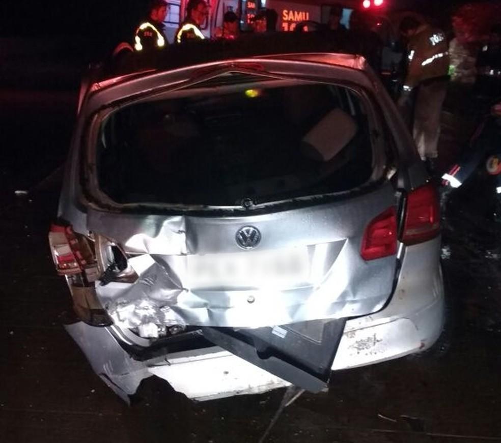 Veículo envolvido no acidente em Caruaru era roubado (Foto: Divulgação/Polícia Militar)