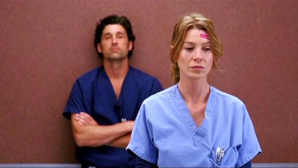 Um dos momentos mais coração partido de Grey's Anatomy (Foto: Reprodução)