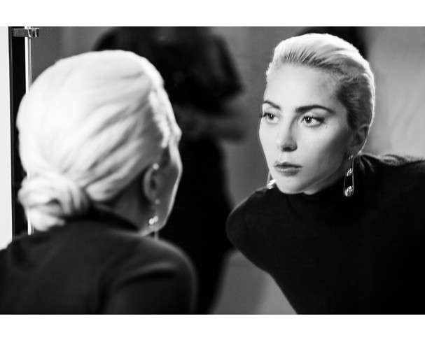 Lady Gaga para a Tiffany&Co. (Foto: Divulgação)