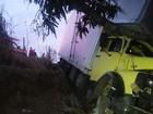 Acidente na BR-381 deixa três feridos em Governador Valadares