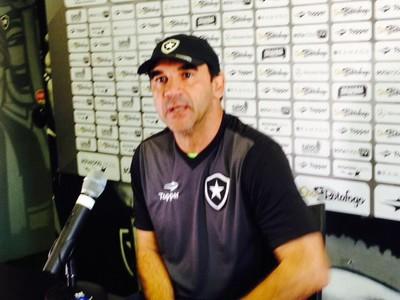 Ricardo Gomes Botafogo (Foto: Marcelo Baltar/ GloboEsporte.com)