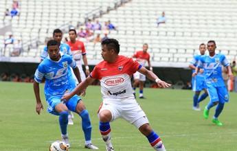 Com quase o dobro de gols, Fortaleza tem ataque mais positivo que Uniclinic