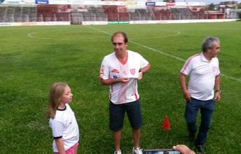 De volta para casa, Paulo Baier é apresentado pelo São Luiz de Ijuí