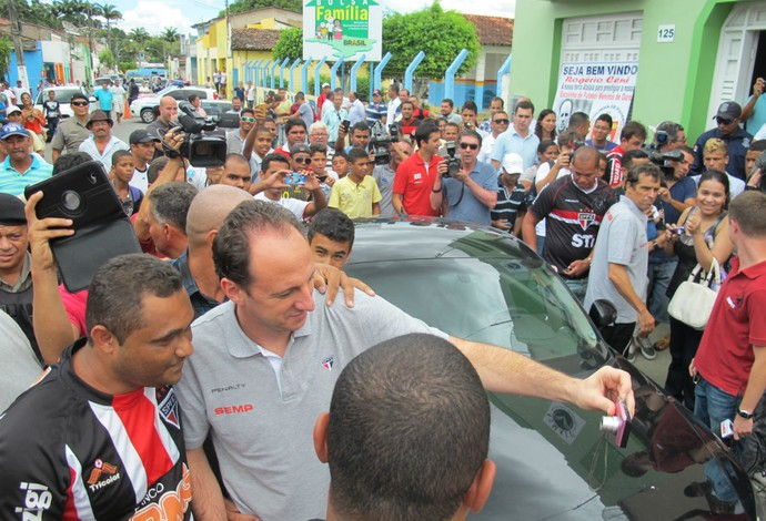 Ceni visita Aloisio Chulapa em Atalaia (Foto: Carlos Augusto Ferrari)