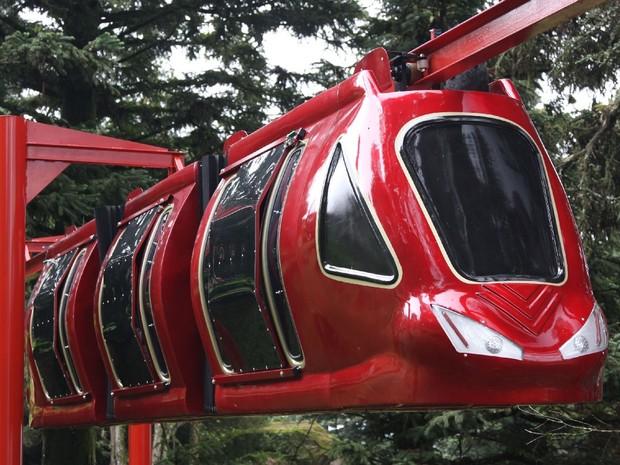 Monorail na Aldeia do Papai Noel, em Gramado (Foto: Divulgação)