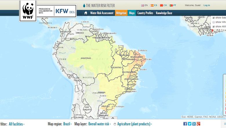 water-risk-wwf (Foto: Divulgação/WWF)