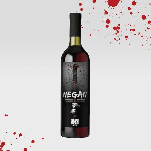 O vinho Negan inspirado no personagem da série The Walking Dead (Foto: Divulgação)