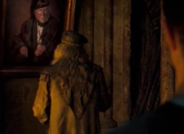 O ator Sam Beazley em cena de Harry Potter e A Ordem da Fênix (2007) (Foto: Reprodução)