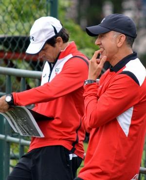 Juan Carlos Osorio e Milton Cruz - São Paulo (Foto: site oficial / saopaulofc.net)