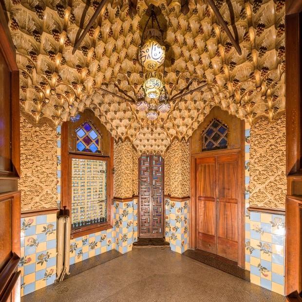 Casa Vicens, primeira grande obra de Antoni Gaudí (Foto: reprodução )